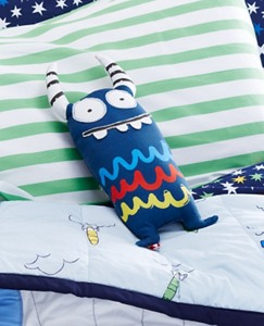 Monster Buddy Pillow by Hanna Andersson