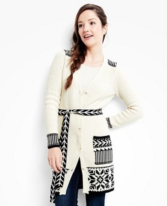 Women's Nordic Heritage Cardigan In Cotton & Merino by Hanna Andersson