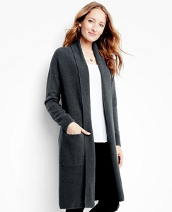 Women's Silk-Touched Long Cardigan by Hanna Andersson