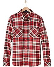 Men's Up North Shirt In Supersoft Flannel by Hanna Andersson