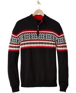 Men's Snö Happy Sweater by Hanna Andersson