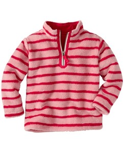 Kids Marshmallow Half Zip by Hanna Andersson