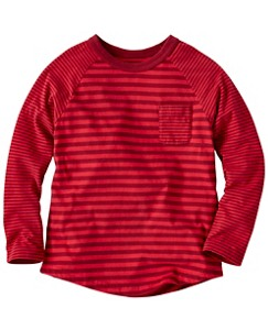Boys Stripe Mix Tee In Supersoft Jersey by Hanna Andersson