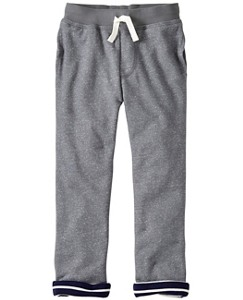 Boys Jersey Lined Sweats In 100% Cotton by Hanna Andersson