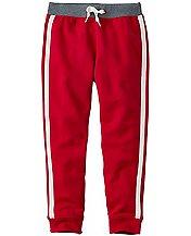 Boys Side Stripe Sweats In 100% Cotton by Hanna Andersson