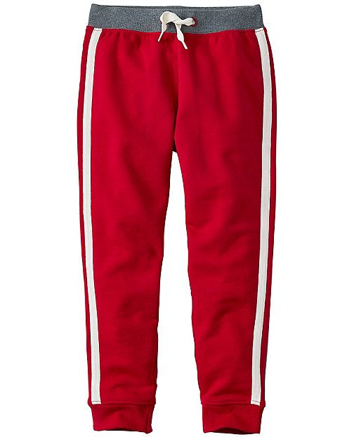 Boys Side Stripe Sweats In 100% Cotton by Hanna Andersson