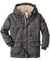 Boys Sherpa Lined Insulated Parka by Hanna Andersson