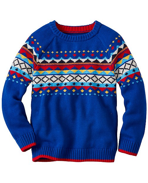 Boys All Is Bright Sweater by Hanna Andersson