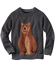Boys Bear Hugs Sweater by Hanna Andersson