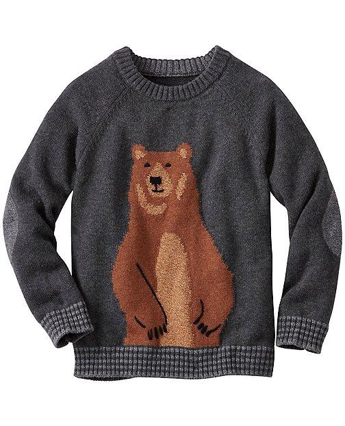 Boys Bear Hugs Sweater by Hanna Andersson