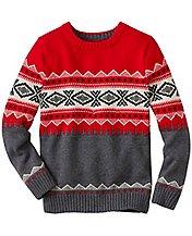Boys Ski Run Sweater  by Hanna Andersson