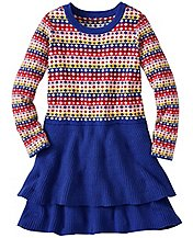 Girls All Is Bright Sweater Dress by Hanna Andersson