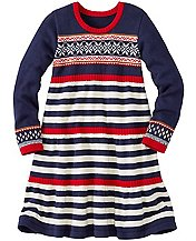 Girls Up North Sweater Dress by Hanna Andersson