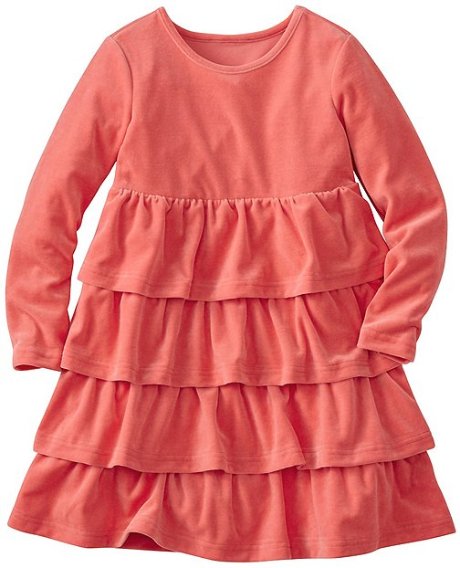 Girls Softest Velour Twirl Dress by Hanna Andersson