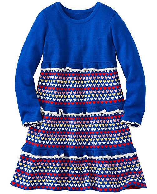 Girls Twirl Sweater Dress by Hanna Andersson