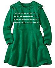 Girls Modern Retro Sweater Dress by Hanna Andersson