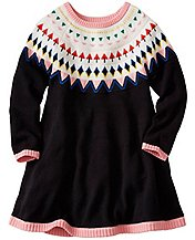 Girls Fairest Isle Sweater Dress by Hanna Andersson