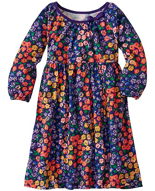 Girls Flowerful Dress by Hanna Andersson