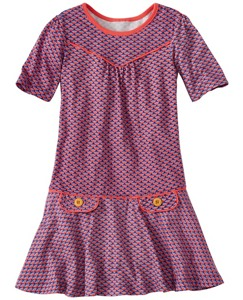 Girls Retro-Perfect Owl Dress by Hanna Andersson