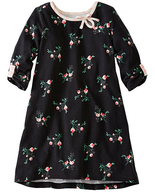 Girls Roses Hi-Lo Dress by Hanna Andersson