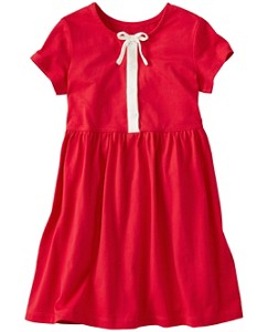 Girls Retro Red Dress by Hanna Andersson