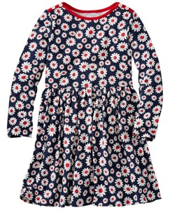 Girls Flowers Forever Dress by Hanna Andersson