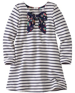 Girls Mariner Dress In French Terry by Hanna Andersson