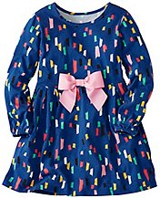 Girls Supersoft Confetti Dress by Hanna Andersson