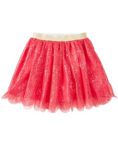 Girls Soft & Shimmery Tulle Skirt by Hanna Andersson