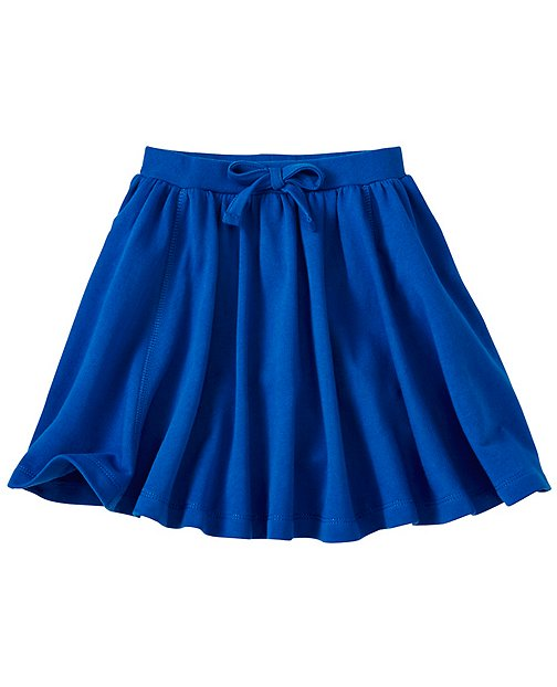 Girls Super Twirl Skirt In French Terry by Hanna Andersson