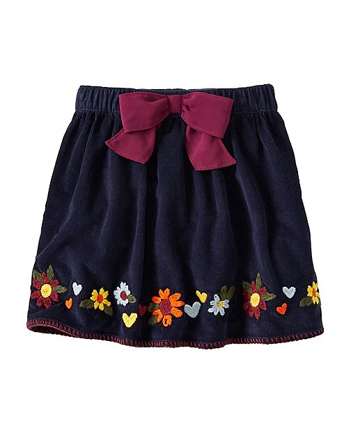 Girls Stitchery Pincord Skirt by Hanna Andersson