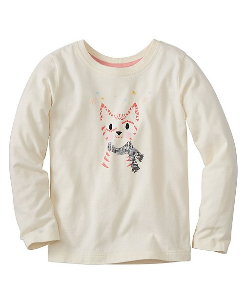 Girls Art Tee In Supersoft Jersey by Hanna Andersson