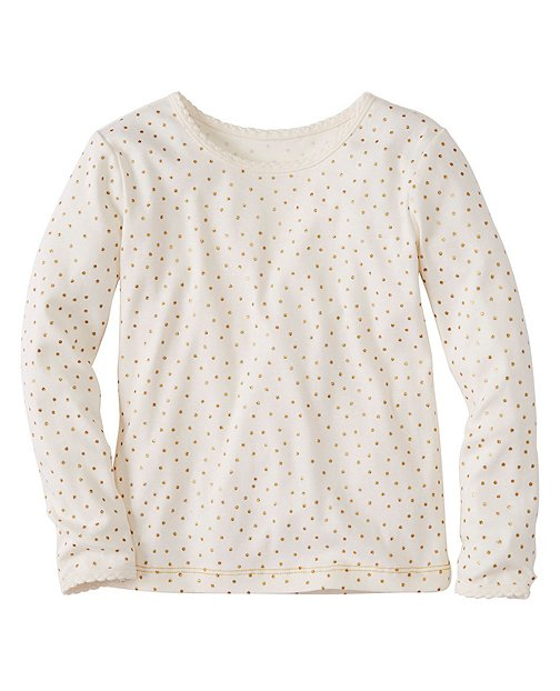 Girls Glitter Tee In Pima Cotton by Hanna Andersson