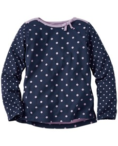 Girls Bow & Boatneck Tee by Hanna Andersson