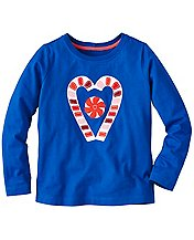 Girls Get Appy Appliqué Tee  by Hanna Andersson