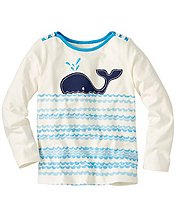 Girls Mariner Art Tee by Hanna Andersson