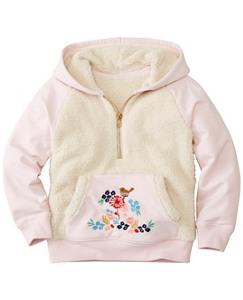 Girls Supercozy Sherpa Hoodie Sweatshirt by Hanna Andersson