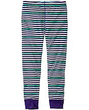 Girls Stripey Loose Leggings by Hanna Andersson