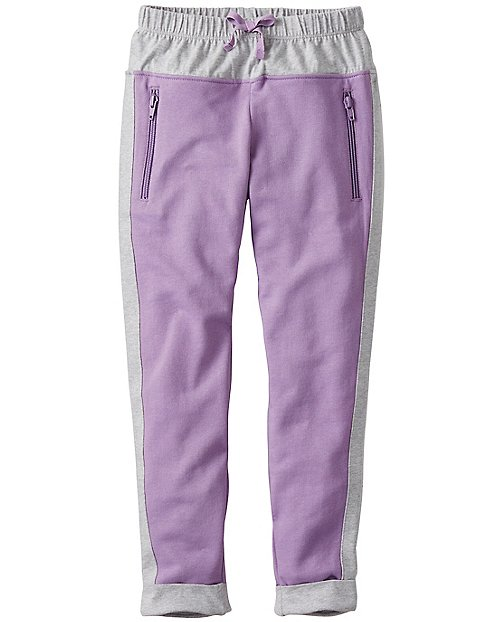 Girls Slim Sweats In 100% Cotton by Hanna Andersson