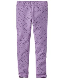 Girls Cozy Leggings In French Terry by Hanna Andersson