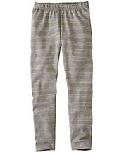 Girls Glitter Stripe Livable Leggings