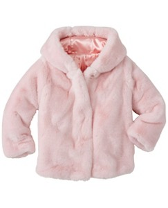 Girls Superfluffy Hooded Jacket by Hanna Andersson