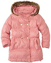 Girls City Puffer Coat by Hanna Andersson