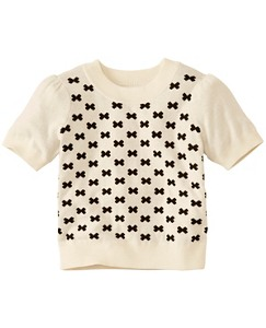 Girls Cozy Sweater Tee by Hanna Andersson