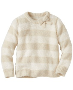 Girls Fuzzy Soft Sweater by Hanna Andersson