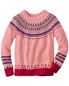 Girls Circle Round Sweater by Hanna Andersson