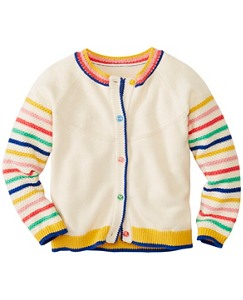 Girls Bring Rainbows Cardigan by Hanna Andersson
