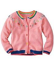 Girls Bring Rainbows Cardigan by Hanna Andersson