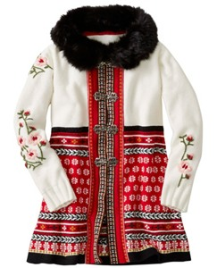 Girls Snö Happy Sweater Coat by Hanna Andersson