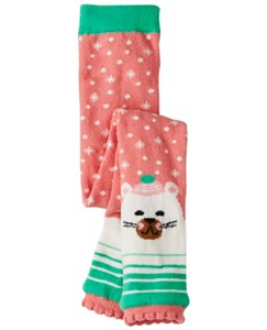 Baby Cozy Critter Ankle Tights by Hanna Andersson